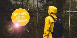 Ecologische en duurzame regenjassen