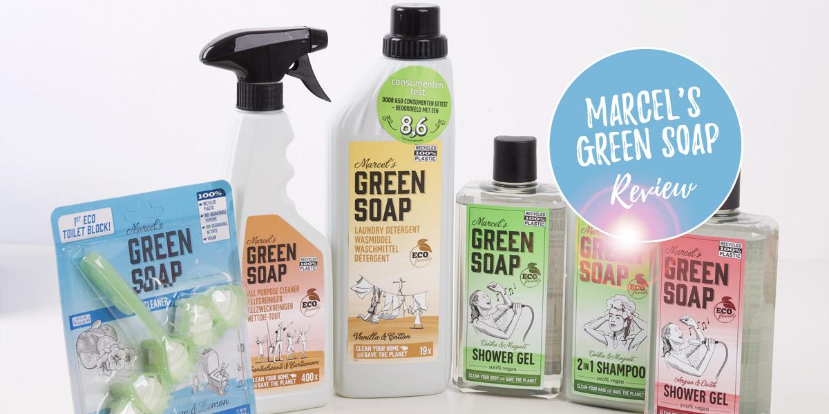 Marcel's green soap review - toiletblokjes, zeep, wasmiddel