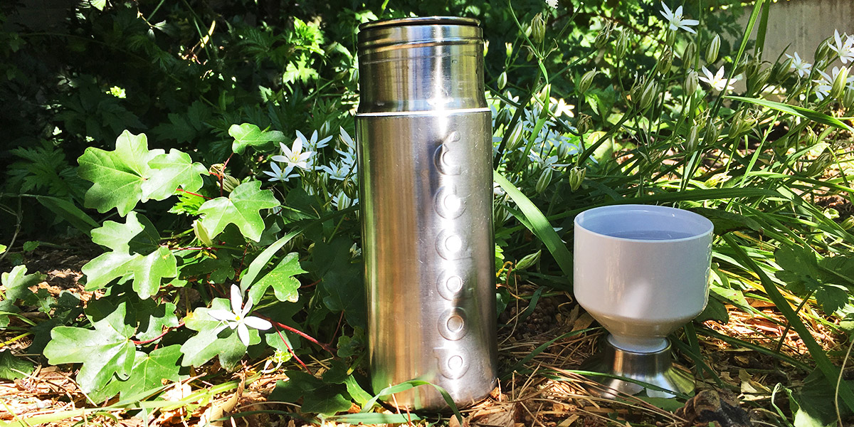 Dopper steel drinkfles review