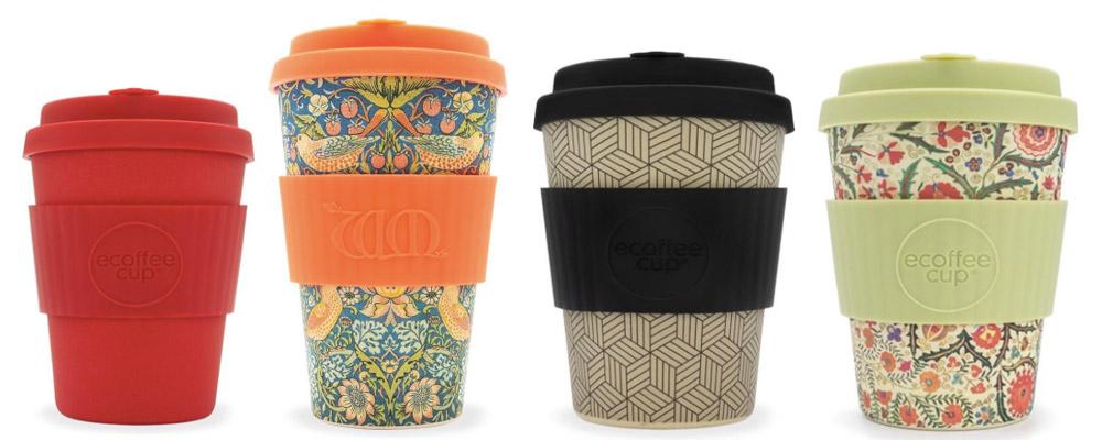 Ecoffee duurzame koffiebekers voor onderweg