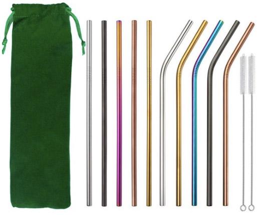 RVS rietjes in kleur