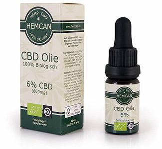 Biologische cbd-olie Hemcan