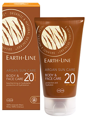 Earth.Line minerale zonnebrand