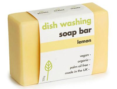 Vaste zeep voor de afwas